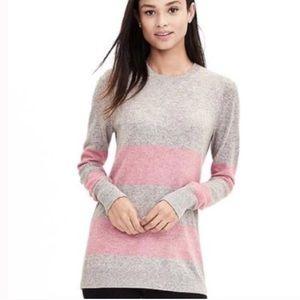 Banana Republic Filpucci Striped Cashmere Sweater